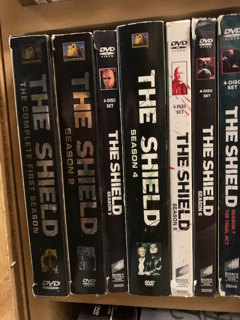 THE SHIELD Season 1, 2, 3 ,4, 5, 6, 7 DVD Sets