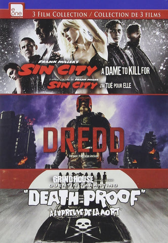 Sin City: A Dame to Kill For / Dredd / Death Proof DVD Triple Feature (Bilingual)