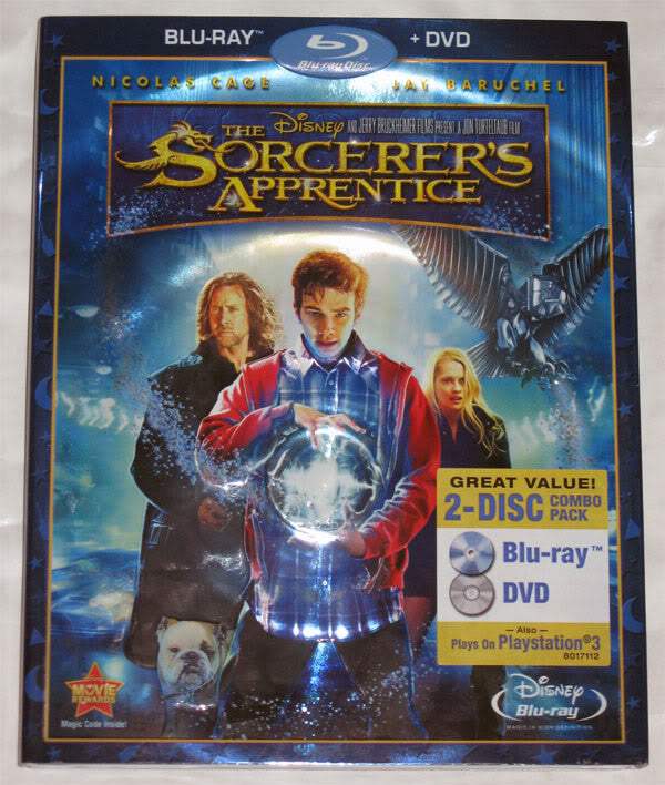 Sorcerer's Apprentice, the (Blu-Ray/DVD Combo) Mint/Used