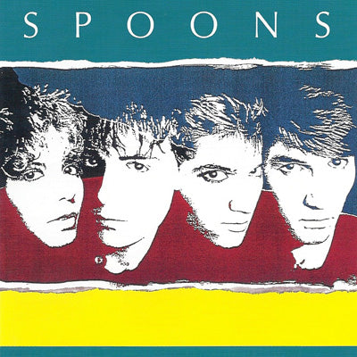Spoons Talkback LP -New Wave - 1983 (Clearance Vinyl) Scuffing ,light marks