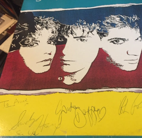 "Spoons Talkback LP 1983 Ready - "" Signed Record """