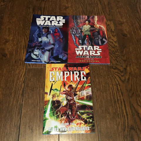 3 Star Wars Graphic Novels