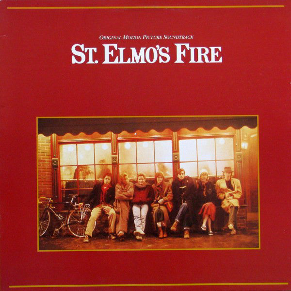 St. Elmo's Fire - Original Motion Picture Soundtrack - 1985-Soundtrack ( vinyl )