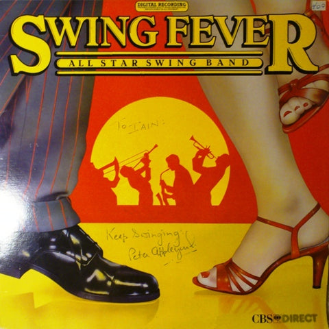 All Star Swing Band ‎– Swing Fever -1982 Big Band Jazz , Swing (vinyl)