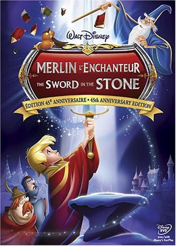 Sword in the Stone -the 45th Annivesary Edition - Mint Used DVD