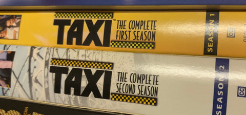 TAXI - SEASONS 1 & 2 on DVD (Mint) In awesome shape - played once