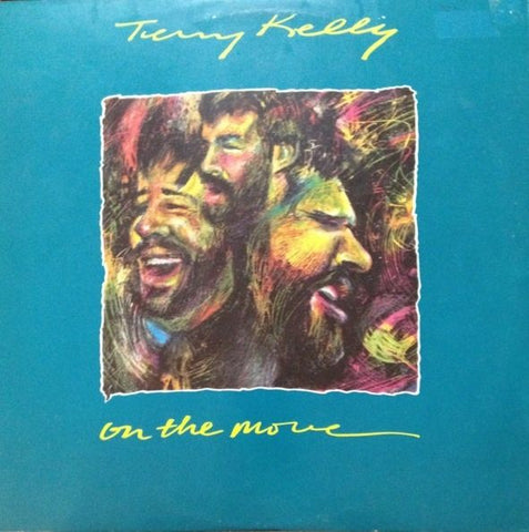 Terry Kelly ‎– On The Move -1984-Pop, Folk, World, & Country (vinyl)