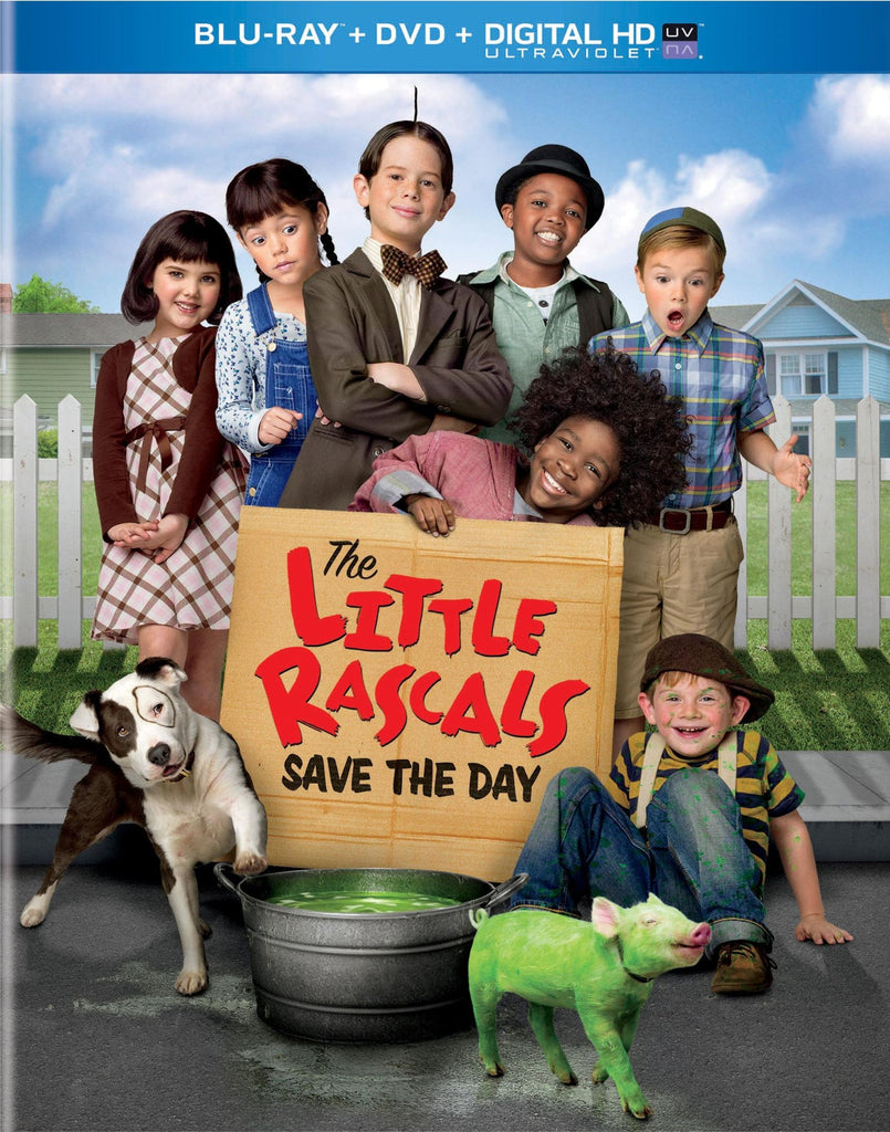 Little Rascals, The - Save the Day-Blu-ray + DVD + UltraViolet] New Sealed