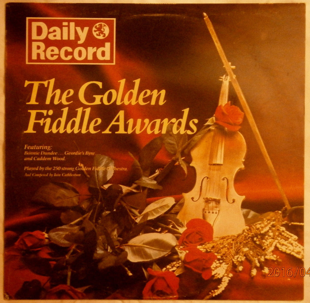 Golden Fiddle Awards ,The - 1976 - Fiddling, Folk , Various Artists (Rare Vinyl)