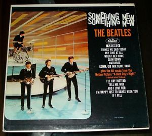 Beatles, The -  Something New LP ST-2108 Capitol Orange Label Canada (vinyl) like new !