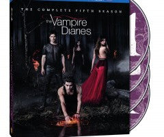 The Vampire Diaries: Season 5 [Blu-ray + DVD + UltraViolet] New / Sealed