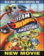 Team Hot Wheels: The Origin of Awesome! / Team Hot Wheels: La Légende (Bilingual) [Blu-ray + DVD + Digital Copy + UltraViolet]