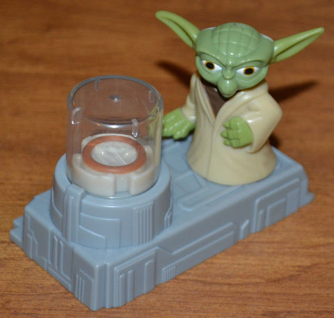 Mcdonalds Star Wars Yoda Levitate Toy Levitator 2.75""