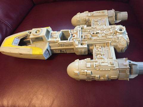 1983 Star Wars Y-Wing Fighter Vehicle