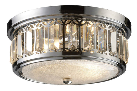 ELK Lighting 11226/2 2-Light Flush Mount Ceiling Light