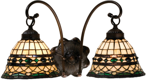 Meyda Tiffany 18530 Roman 2-Light Wall Sconce