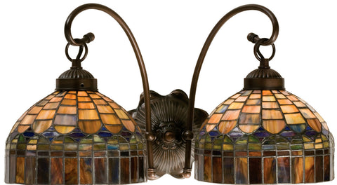 Meyda Tiffany 18690 2-Light Candice Wall Sconce