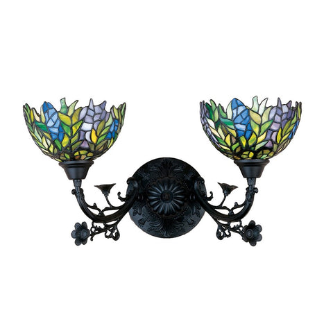 Meyda Tiffany 27393 2-Light Wall Sconce