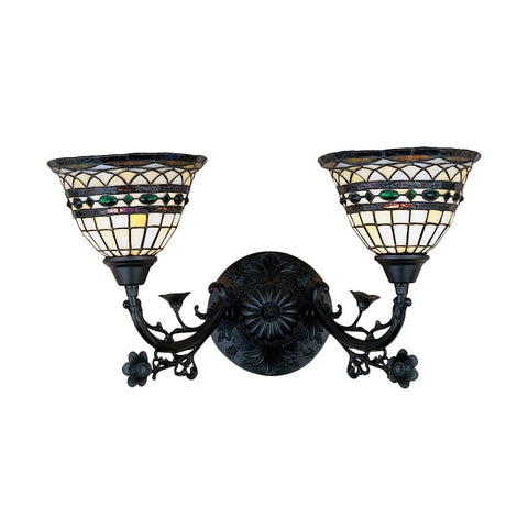 Meyda Tiffany 27394 2-Light Scocne Wall Sconce