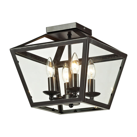 ELK Lighting 31506/4 Alanna 2-Light Flush Mount