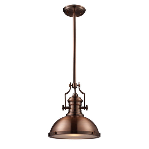 ELK Lighting 66144-1 Chadwick Large Pendant, Antique Copper