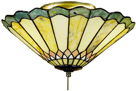Meyda Tiffany 71007 3-Light Carousel Flush Mount Ceiling Light