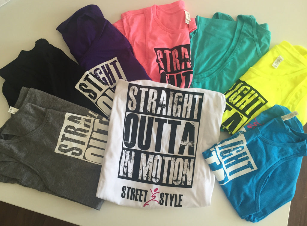 'Straight Outta In Motion' Street Style Shirts