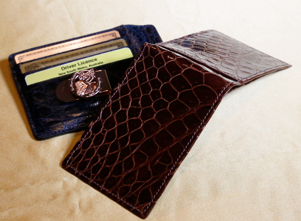 For The Love Of Money - Crocodile Wallets Last So Much Longer