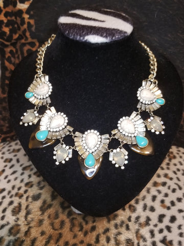"Premier ""Teal The Show"" Necklace"