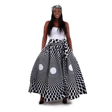 Load image into Gallery viewer, African Print Skirts