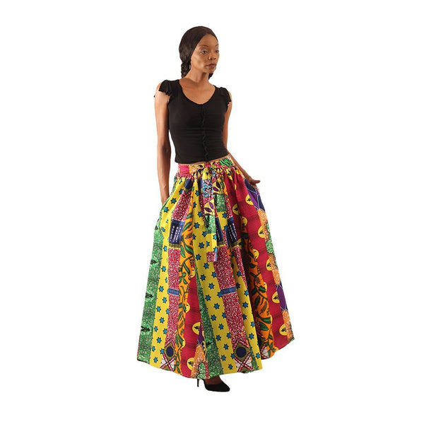 African Print Skirts