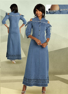 DVJ Denim Dress