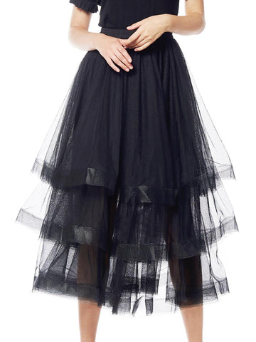 Tessa Tulle Layered Skirt