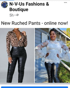 Ruched Up Pant