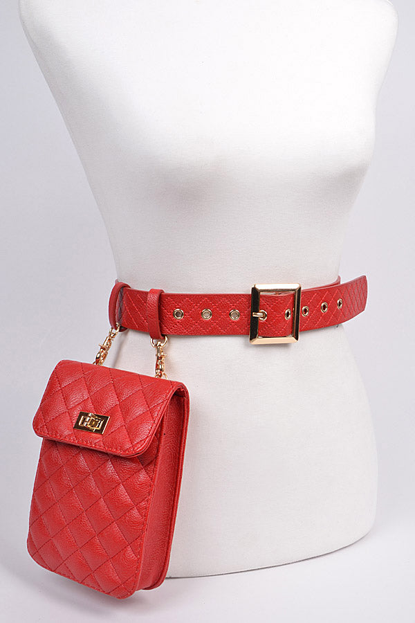 2 in 1 Belt and Bag - purse