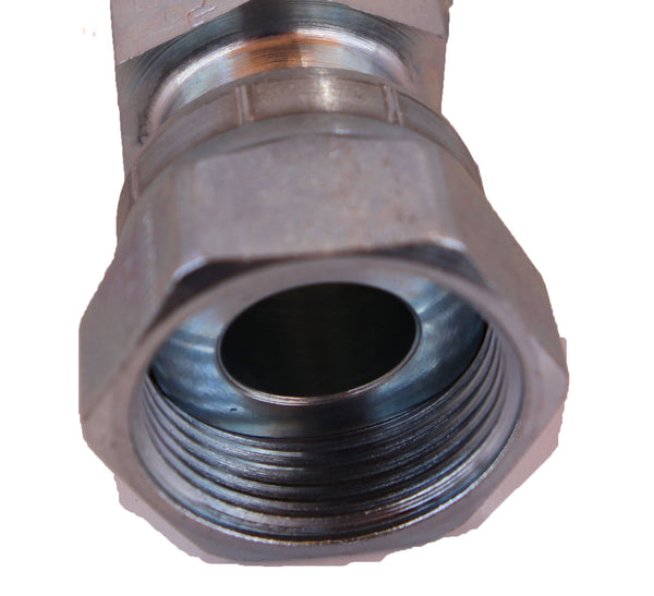 Push To Connect Fittings >> (6000 psi) Female O-Ring Face Seal (Straight and 90°) – Hydraulic Hose and Fittings, LLC