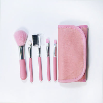 5 Pcs kabuki Makeup Brushes Set