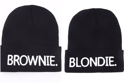 BLONDIE & BROWNIE Beanies