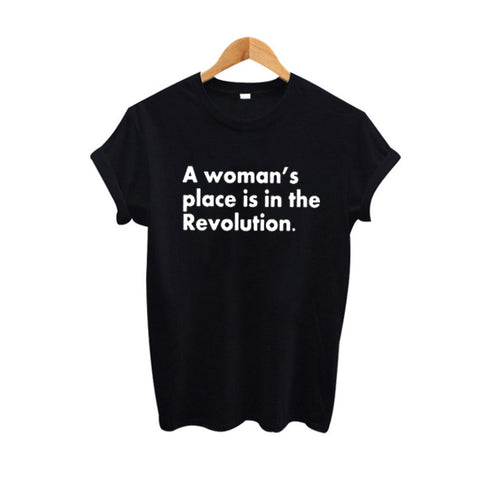 A Woman 's Place Is In The Revolution