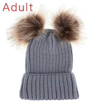 FAUX Fur Bobble Ball