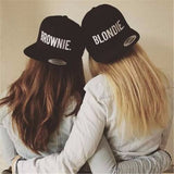 BLONDIE BROWNIE Embroidery Lovers Snapback