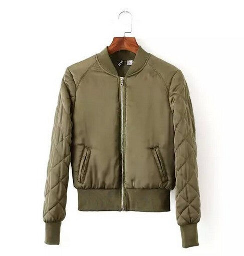 Stella Quilted Bomber Jacket