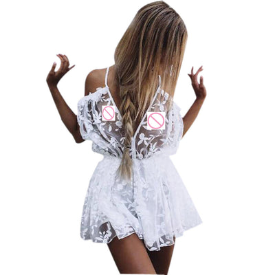Ava Lace Playsuit