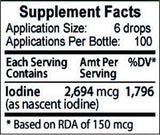 iodine edge supplement facts