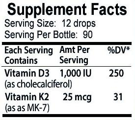 Vitamin D3 with K2 Liquid Drops -  go-nutrients.myshopify.com