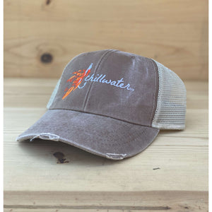 Trucker Cap Mesh Snap Back - Angler