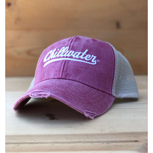 Trucker Cap Mesh Snap Back - Vintage Chill