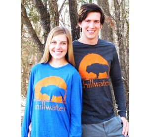 Long Sleeve T-Shirt Super Soft - Buffalo; Multiple Colors