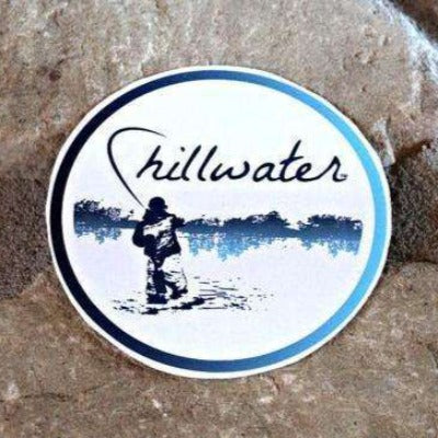 Angler Fly Fishing Sticker