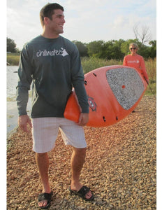 Comfort Color Long Sleeve T-Shirt - Classic Kayak; Multiple Colors